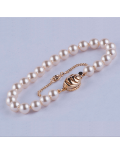Pulsera de Perlas 7 mm...