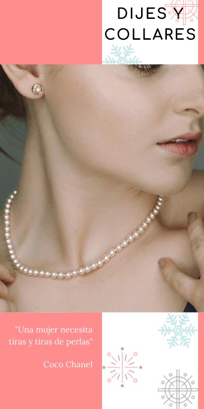 Dijes y Collares de Perlas